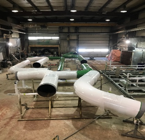 In-house Facility Sandblasting, Painting, and Coating2