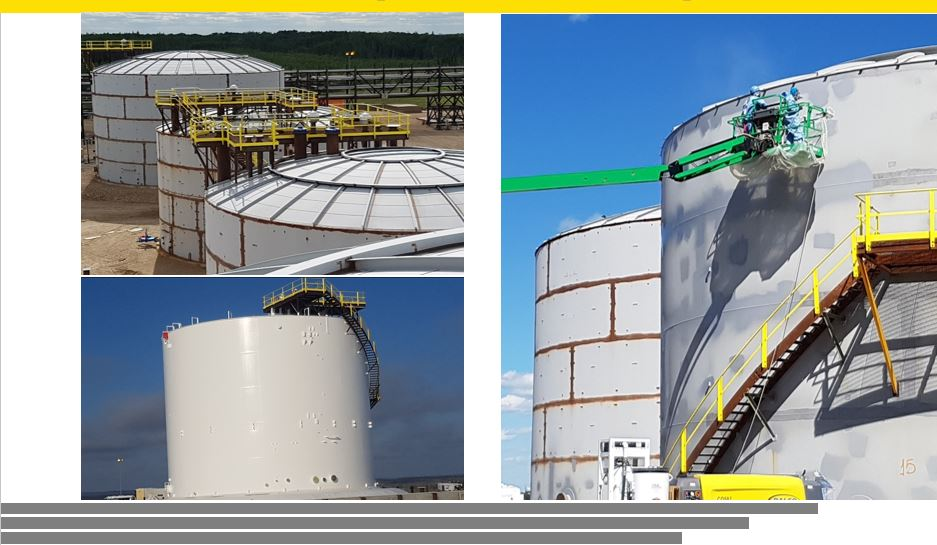 Project Profile - Blast, Paint and Coat Tank Farm